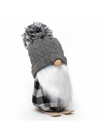 MERAVIC - Gnome On Skis With Grey Pompom GREY