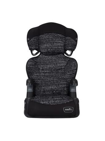 EVENFLO - Big Kid Highback 2-in-1 Belt-Positioning Booster Car Seat STATIC BLACK