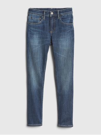 GAP - Kids Skinny Jeans with Max Stretch DARK WASH