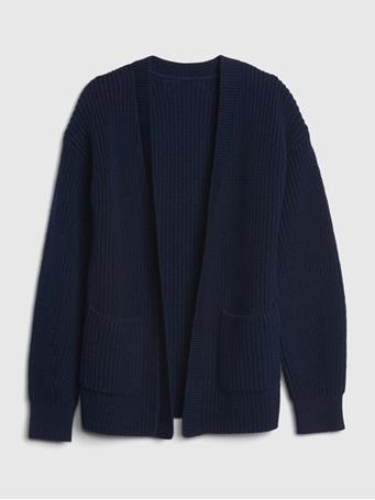 GAP - Kids Open-Front Cardigan NAVY UNIFORM