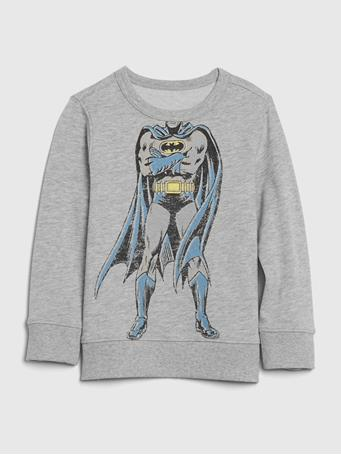 GAP - babyGap | DC? Graphic Crewneck Sweatshirt LT HTHR GREY