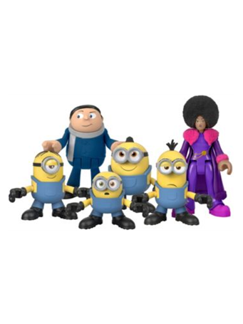 FISHER-PRICE? - Imaginext? Minions: The Rise of Gru Figure Pack (3-8Y) NO COLOR