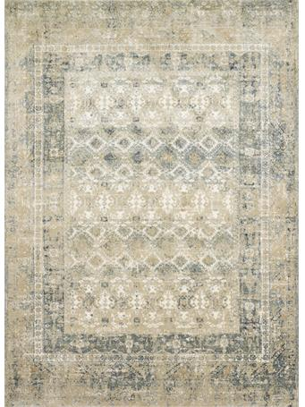 MAGNOLIA HOME - James Rug Collection SAND/OCEAN