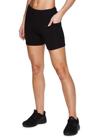 RBX - Set of 2 - 5 inch Bike Shorts - Black and Grey BLACK GREY