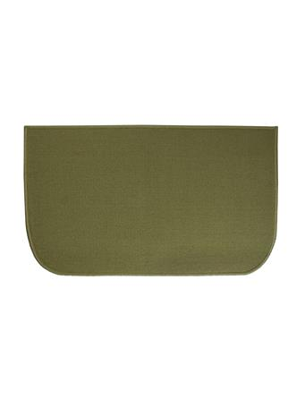 """RITZ - 18"""" X 30"""" Accent Kitchen Rug with Latex Backing  GREEN"""