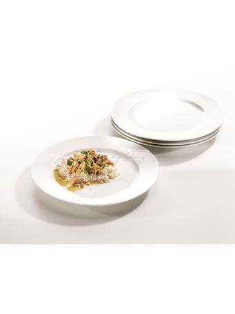SYMPHONY - Alfresco Large Round Plates Set Of 4 No Color