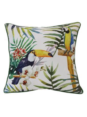 OUTDOOR DECOR - Tropical Birds Outdoor Decorative Cushion MULTI