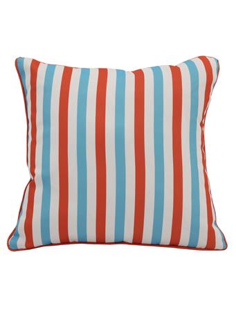 OUTDOOR DECOR - Stripe Outdoor Decorative Cushion CORAL