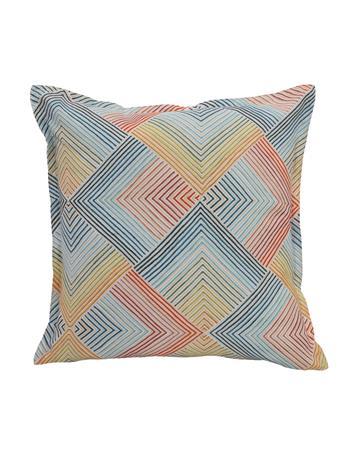 OUTDOOR DECOR - Multi Lines Outdoor Decorative Cushion MULTI
