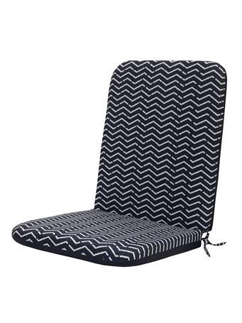 OUTDOOR DECOR - Urban Chic High Back Chair Pad 601 BLUE