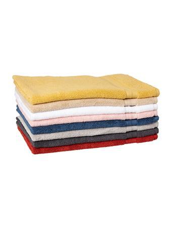 MARINER COTTON - Amber Luxury Zero Twist Dobby Hand Towel WHITE