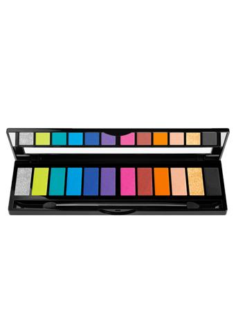 BLACK UP - Flash 12 Shadow Colour Palette No Color