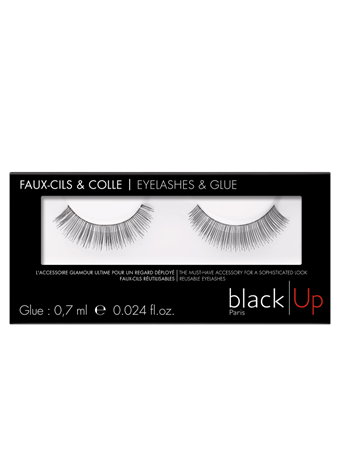BLACK UP - Natural Volume Lashes No Color