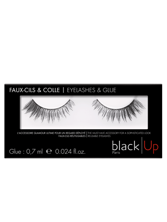 BLACK UP - Panoramic Volume Lashes No Color