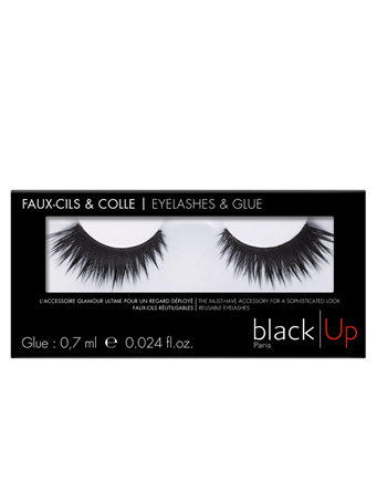 BLACK UP - Theatrical Volume Lashes No Color