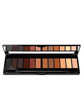 BLACK UP - Nude 12 Shadow Colour Palette No Color
