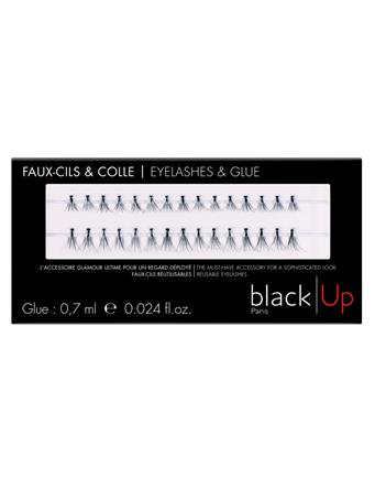 BLACK UP - Naturally Single Lashes No Color