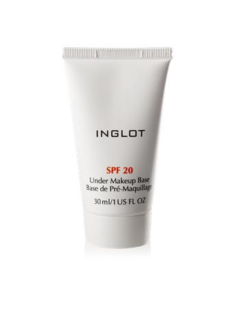 INGLOT - Under Makeup Base SPF 20 No Color