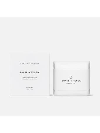 PESTLE & MORTAR - Double Sided Face Cloths - Set Of 3 No Color