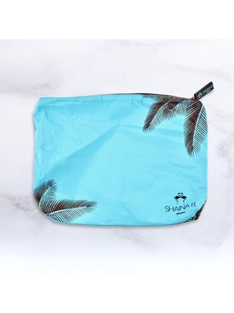 SHAINA B. - Blue Palm Print Spillproof Bag  No Color
