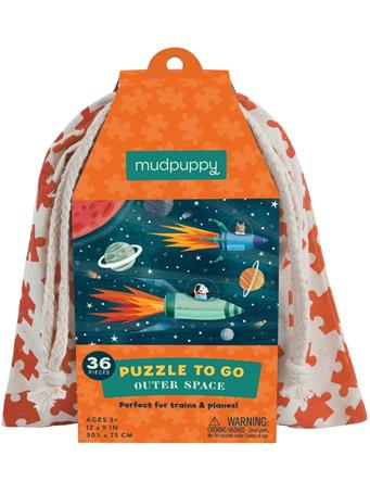 MUDPUPPY - Outer Space Puzzle To Go NO COLOR