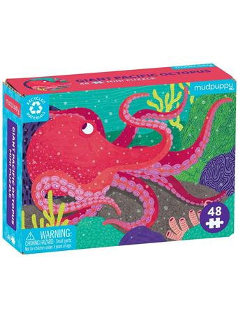 MUDPUPPY - Giant Pacific Octopus 48 Piece Mini Puzzle NO COLOR