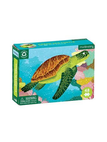MUDPUPPY - Sea Turtle 48 Piece Mini Puzzle NO COLOR