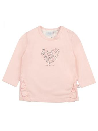 FEETJE - Longsleeve - Love Made Me LIGHT PINK