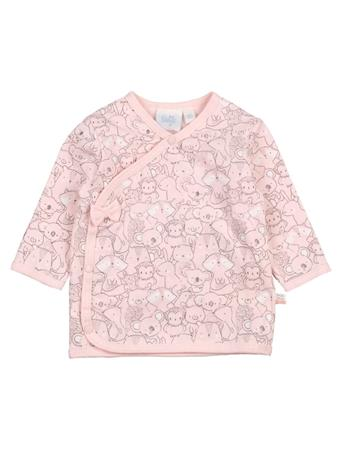 FEETJE - Long Sleeve Top Side Close PINK