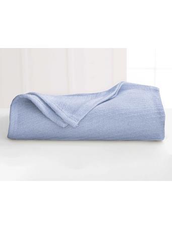MARTEX - Cotton Blanket BLUE