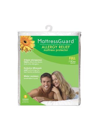 MATTRESS GUARD - Allergy Relief Mattress Encasement WHITE