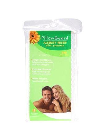 MATTRESS GUARD - Allergy Relief Pillow Encasement WHITE
