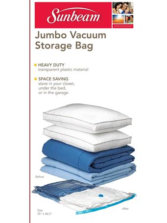 SUNBEAM - Vacuum Bag - Jumbo - 1 Piece CLEAR