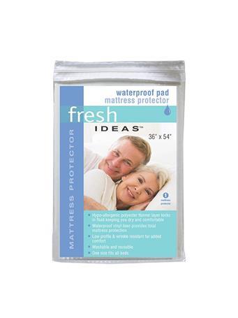 FRESH IDEAS - Waterproof Pad Mattress Protector 36