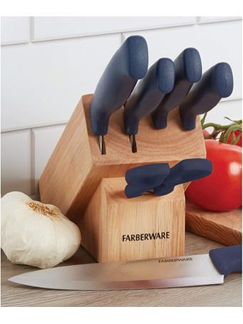 FARBERWARE - 6pc Triple Rivet Cutlery Prep Set NO COLOUR