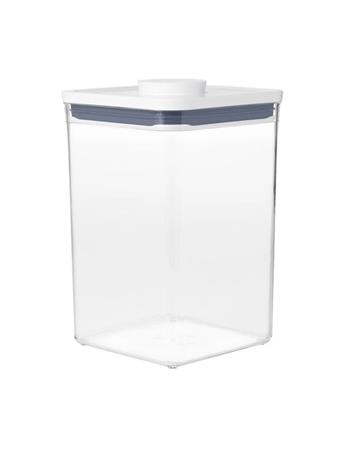 OXO - Good Grip POP Container - Big Square 4.4 Qrt WHITE