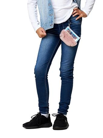 SQUEEZE - 5 Pocket Roll Cuff with Jean Pouch DARK ELISE