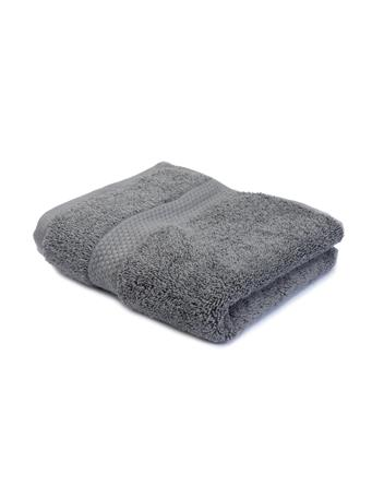 "MARINER COTTON - Wash Cloth - 13""x13 GREY"