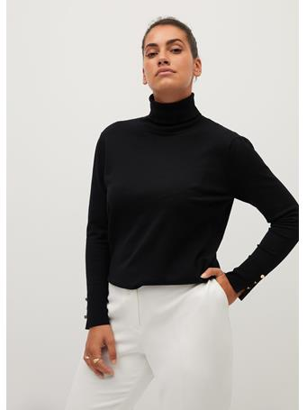 Violeta by MANGO - Gina Sweater BLACK