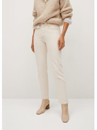 MANGO - Premium Jeans NATURAL WHITE