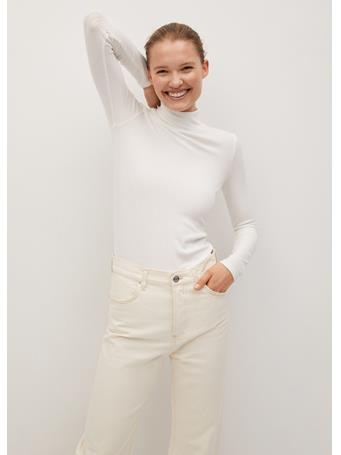 MANGO - Lilo7 T-Shirt NATURAL WHITE