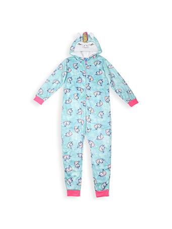 SLEEP ON IT - Unicorn Sleeper With Hood (7-16) NOVELTY