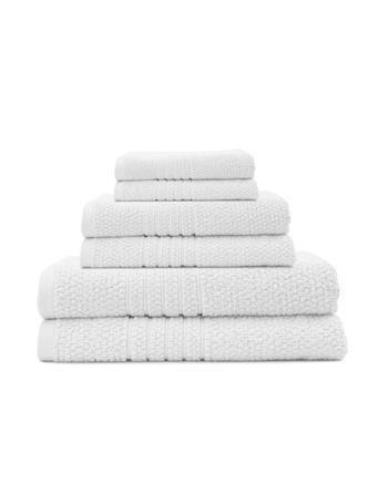 SOFTEE - 10Pc. Towel Set WHITE