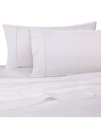 MARINER COTTON - 300 Thread Count Pillow Case Pair WHITE