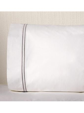 SFERRA - Grande Hotel Pillow Case Pair IVORY/IVORY