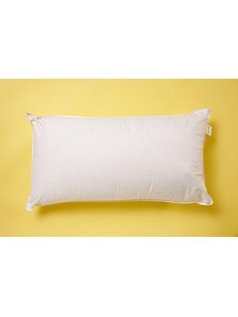 CALVIN KLEIN - CK Simple Print King Pillow WHITE