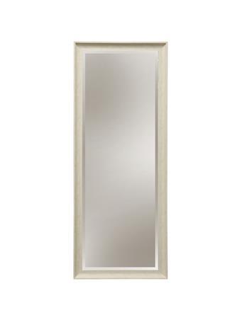 STYLECRAFT - Distressed Wood Mirror WHITE
