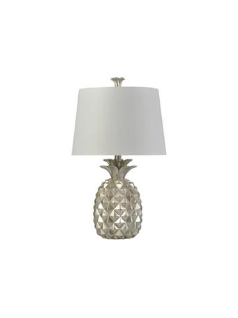 STYLECRAFT - Silver Traditional Coastal Table Lamp SILVER
