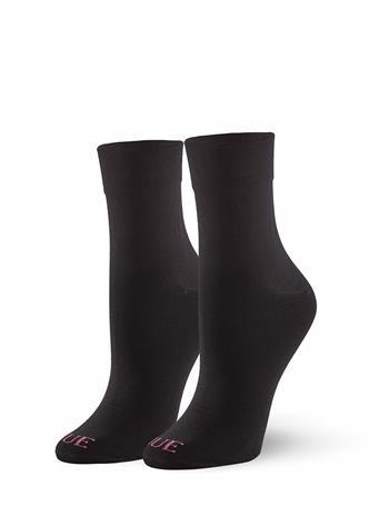 HUE - Cushion Sock BLACK