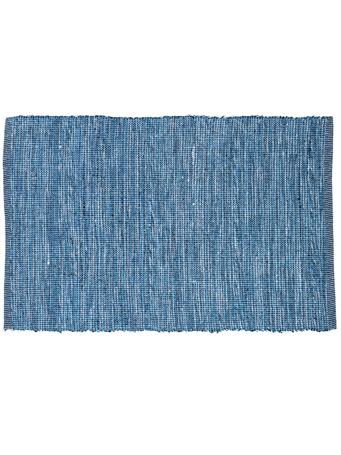 HOME ESSENTIALS - Cotton Scatter Rug - Blue Mix BLUE